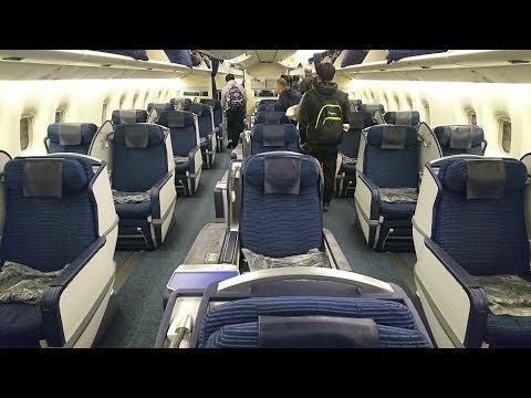 飛行記錄20180127【東京成田→桃園】全日空 NH-823 波音767-300ER 商務艙CRADLE(HD)