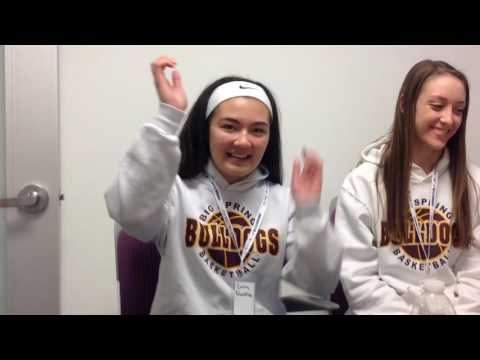 Mid-Penn Media Day: Area girls describe their dream dunk - Dauer: 108 Sekunden