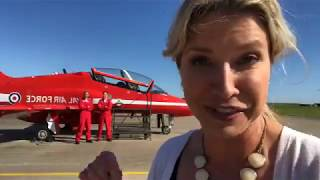Steph Stricklen LIVE with the RAF Red Arrows - Part 1