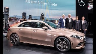 2019 Mercedes-Benz A-Class L Sedan unveiled at Auto China 2018