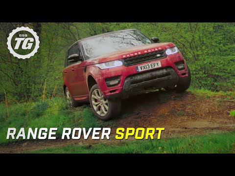 Range Rover Sport Review: Mud and Track   Top Gear   Series 20   BBC - Видео онлайн