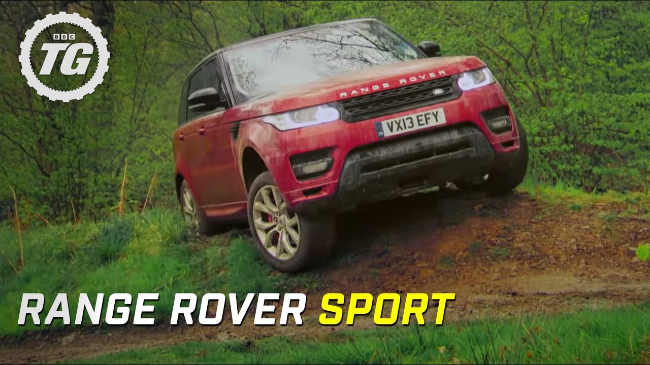 Range Rover Sport Review Mud and Track Top Gear Series 20
