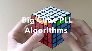 Big Cube PLL Algorithms