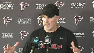 Falcons coach rallies support for Neiron Ball