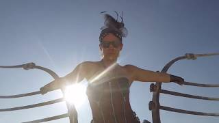Burning Man 2017 on a bicycle