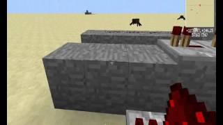 Как сделать пушку, стреляющую динамитом в minecraft 1.5.2