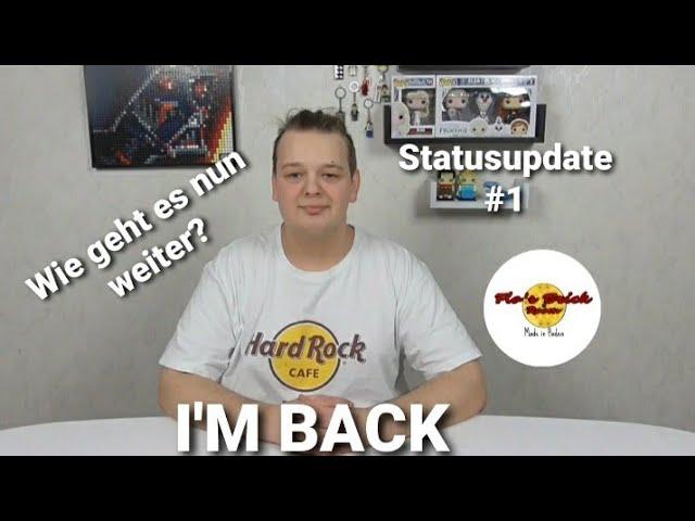 I'M BACK - Wie geht es nun weiter? // Statusupdate #1