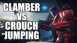 Clamber vs Crouch Jumping in Halo - A Response to Aozolai