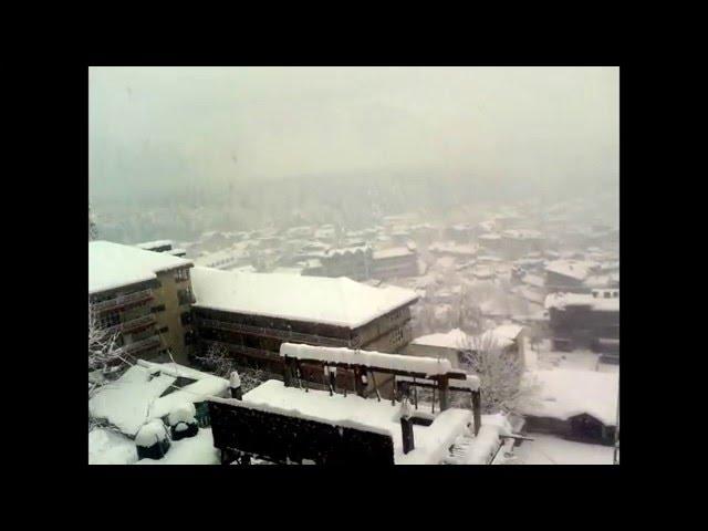 Tour to MANALI *snow fall*  December 2014