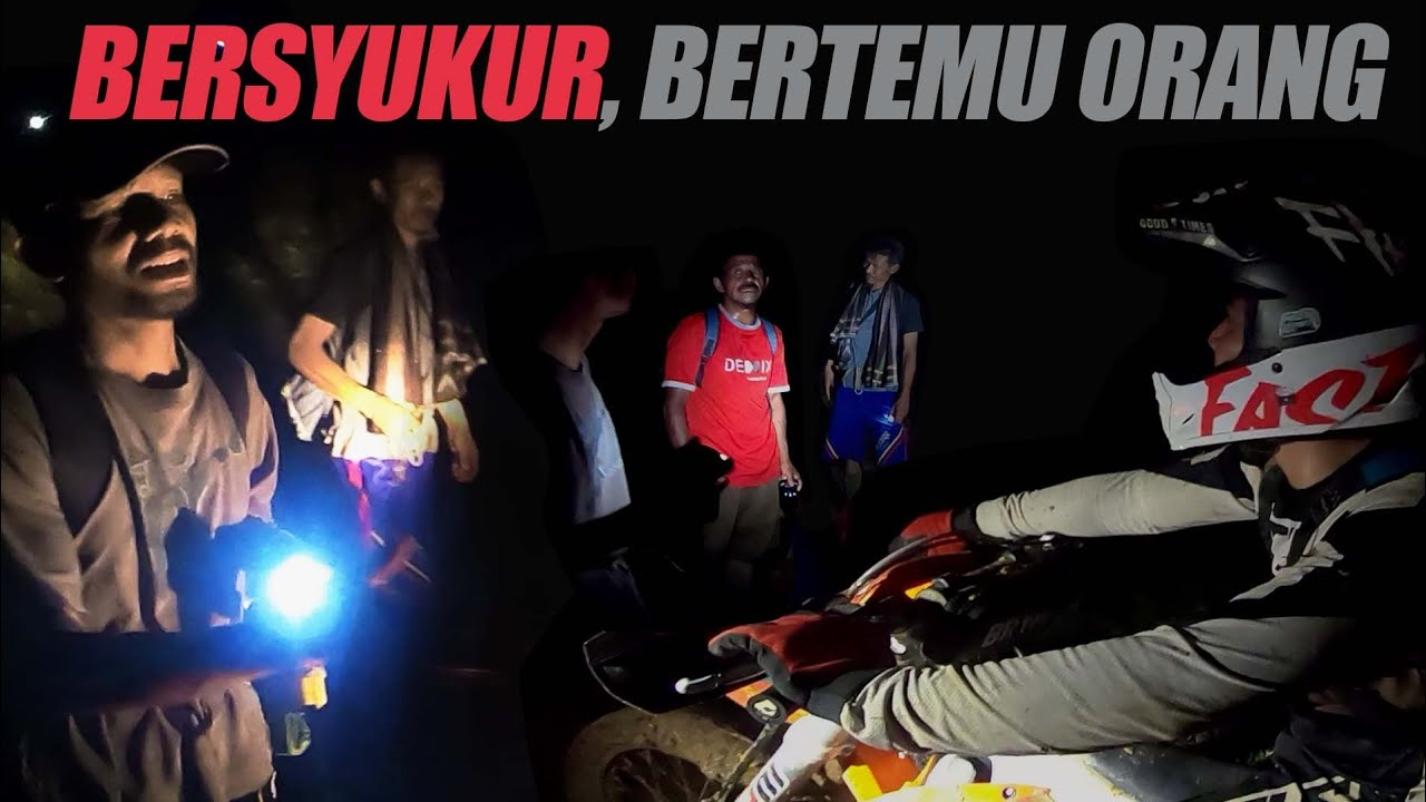 BERUNTUNG !! Aku Bisa Keluar Dari Hutan, 2 Motor Lolos, 5 Menginap (Hard Enduro Tangerang #3)
