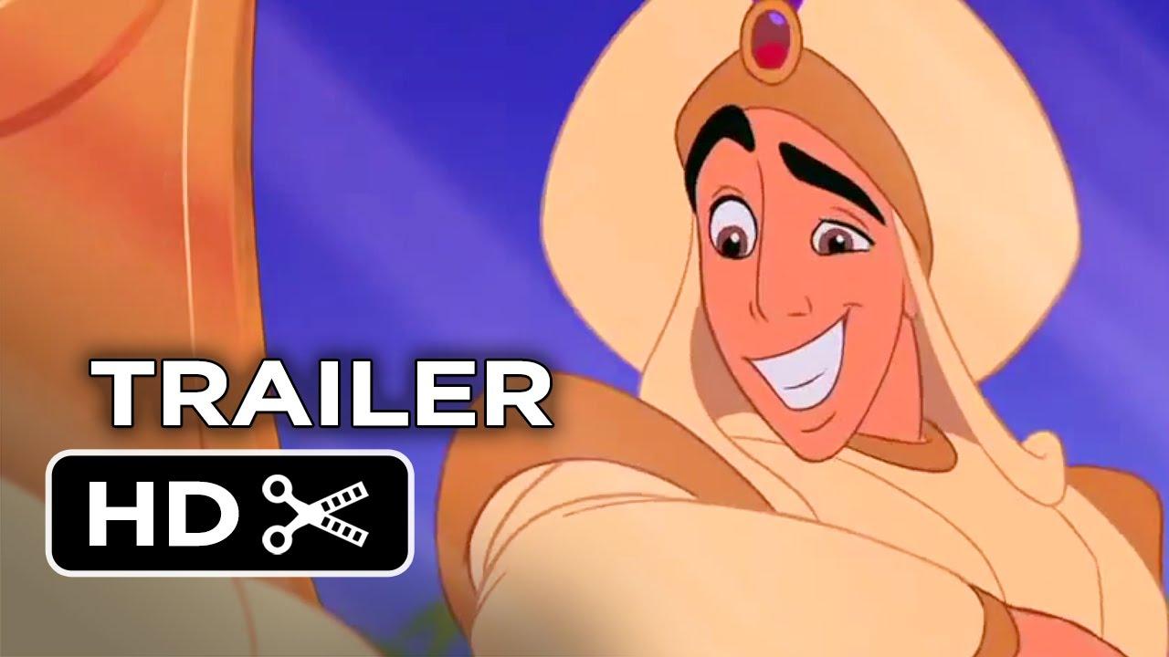 Aladdin Diamond Edition Trailer (2015) - Disney Movie HD