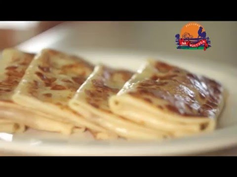 программа Прогород - блины с банановой начинкой от шеф-повара ресторана За плетнем
