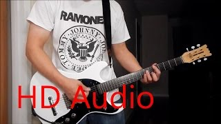 Ramones – Indian Giver (Guitar Cover), Barre Chords, Downstroking, Johnny Ramone