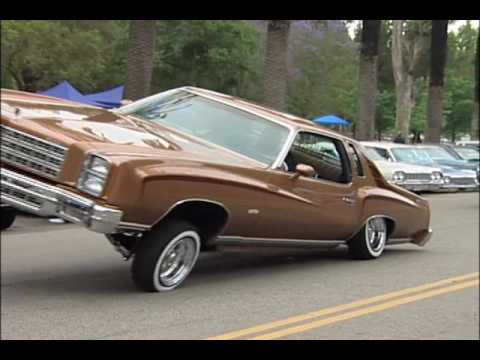 Lowriders at Elysian Park in L.A.