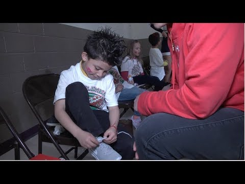 B Strong Shoe Giveaway at Cooley