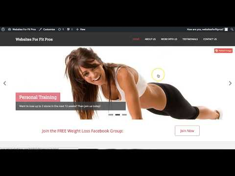 How To Build Your First Personal Trainer Website