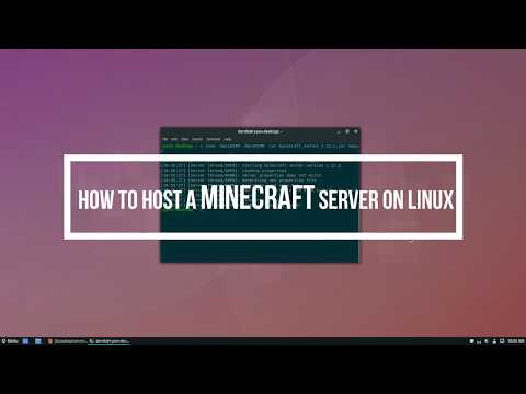 how-to-host-a-minecraft-server-on-linux