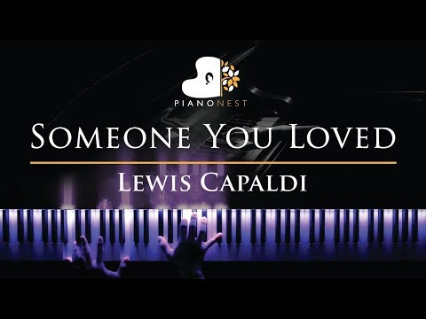 Lewis Capaldi - Someone You Loved - Piano Karaoke  Sing Along Cover with