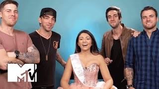 All Time Low: A Band Did My Makeup | MTV News
