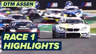 Crazy Race! Wittmann gets 2nd season win   Assen DTM Race 1   Highlights