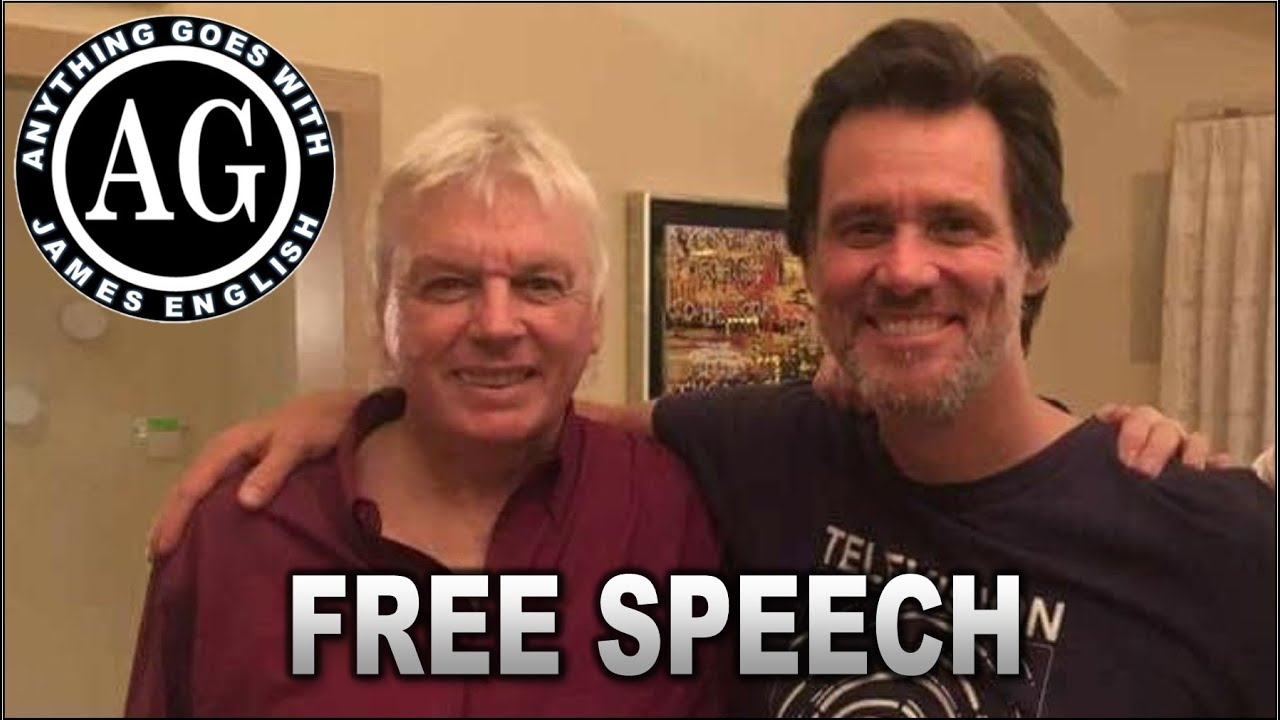 David Icke Meets Jim Carrey And Talks About Losing Free Speech.