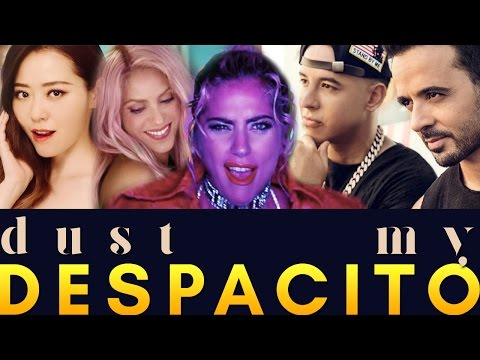 Dust Slowly  Luis Fonsi, Jane Zhang, Lady Gaga, Shakira, Men at Work & Imagine Dragons