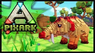 WHO REMEMBERS ARK SURVIVAL?! | PixARK Gameplay #1