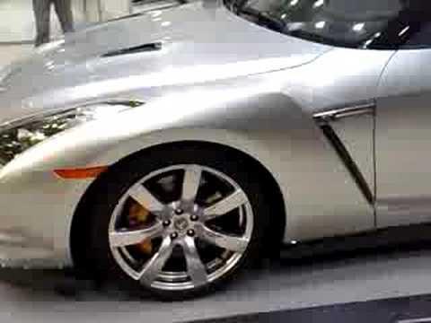 Nissan GT-R launch 360 view part 1