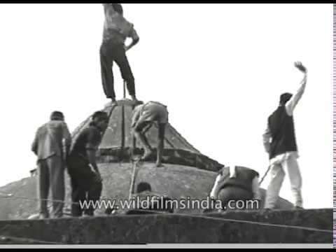 Ayodhya Babri Masjid destruction - rare archival footage