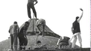 Ayodhya Babri Masjid destruction - rare archival footage