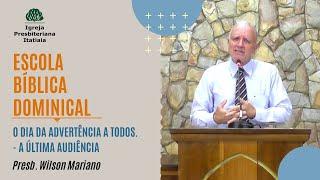 Escola Bíblica Dominical (12/07/2020) - Igreja Presbiteriana Itatiaia