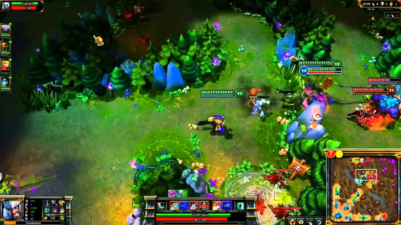 League of Legends 'Demonblade Tryndamere' Champion