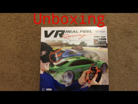 Vr real feel racing unboxing