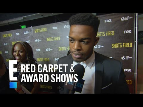 """""""Shots Fired"""" Stars Dish on New FOX Series' Premise   E! Live from the Red Carpet"""