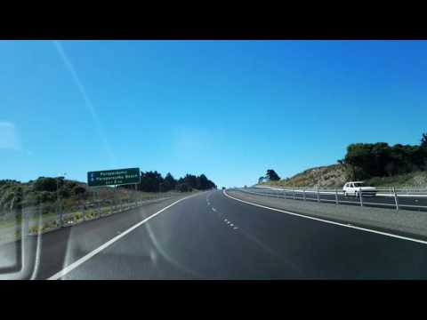 The new Kapiti Expressway from Raumati to Paraparaumu