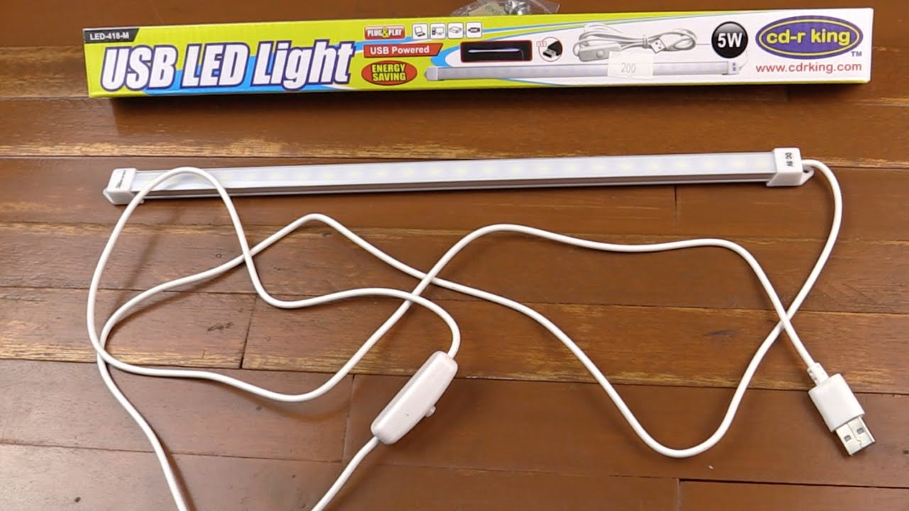 5w Usb Led Strip From Cdrking Youtube