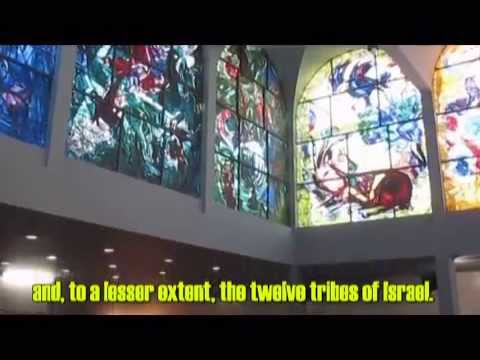 Marc Chagall Windows- Hadassah-Hebrew University Medical Center in Jerusalem