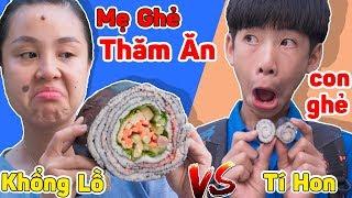 Mẹ Ghẻ Con Chồng - Mày Đừng Hòng Được Ăn Cơm Cuộn Rong Biển Hàn Quốc Khổng Lồ ❤ Hằng Cheno