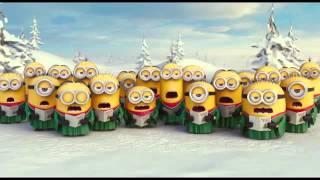 Миньоны поют|новый год))