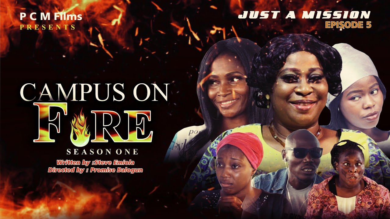 Download JUST A MISSION Ep 5 | Campus On Fire Series | PCM Films | #Directed by Promise Balogun