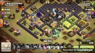 Clash Of Clans - ataques 100% com corredores em CV8 e CV9