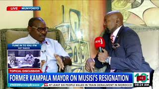 Topical Discussion: Former Kampala Mayor On Musisi's Resignation