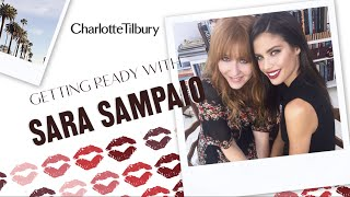 Red Carpet Makeup Tutorial with Sara Sampaio | Charlotte Tilbury