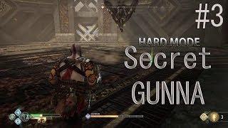 God Of War vs GUNNR (PS4 God Of War) Hard Mode 2018 - Secret