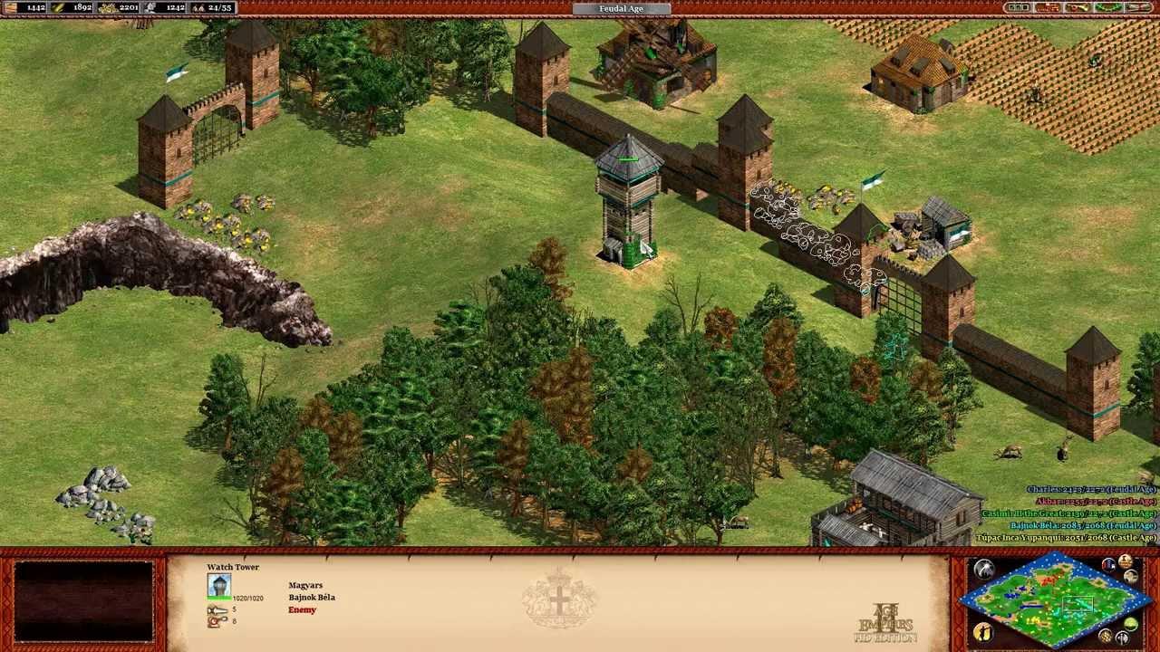 Dans Age of Empires II: HD Edition, les fans du jeu original et les nouveaux venus vont tomber sous le charme de cette expérience authentique du classique Age of Empires II.