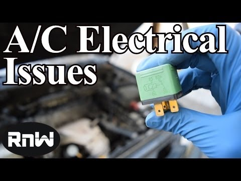 How to Fix your Car's AC System - Compressor Coil, Clutch Relay, Low and High Pressure Switches