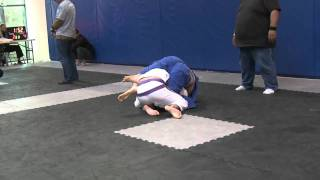 Tournament: Roger Gracie Back Take From Closed Guard (Guard - L. 4-6)