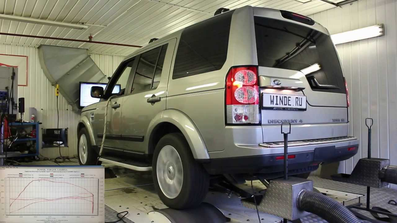 Land Rover Discovery 4 - чип тюнинг WWW.WINDE.RU