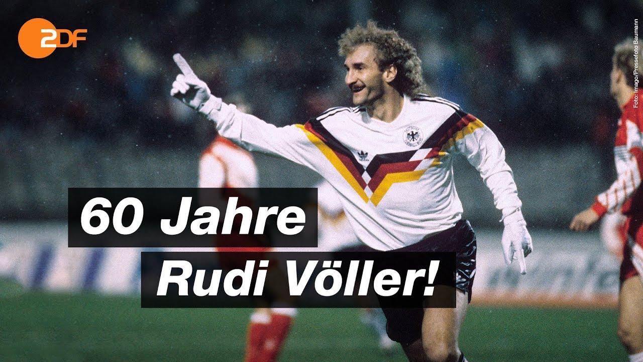 Tore Titel Und Wutausbruche Rudi Voller Wird 60 Zdfsport Youtube