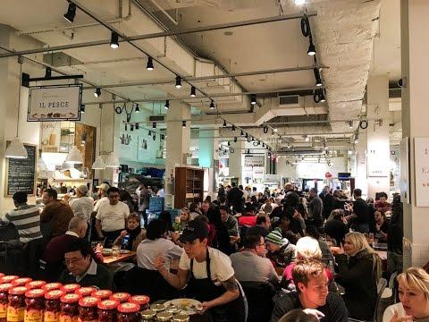 Tour of New York City's Eataly Italian marketplace & La Birreria